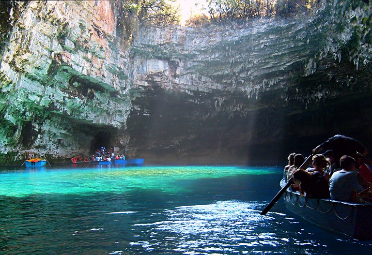 Melissani Cave, Kefaloni