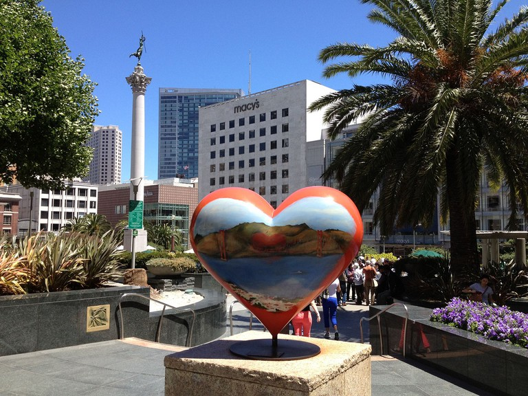 America's Greatest City by the Bay at Union Square San Francisco
