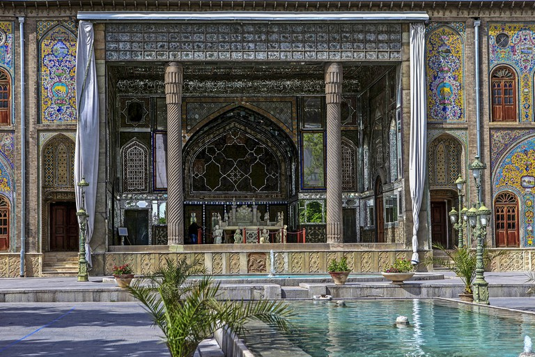 Golestan Palace is a masterpiece