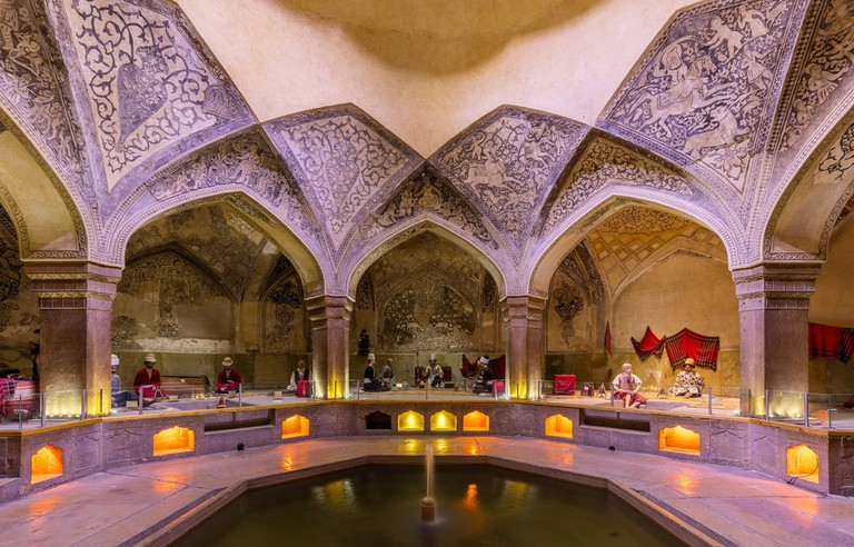 Vakil Bathhouse in Shiraz | © Diego Delso / Flickr