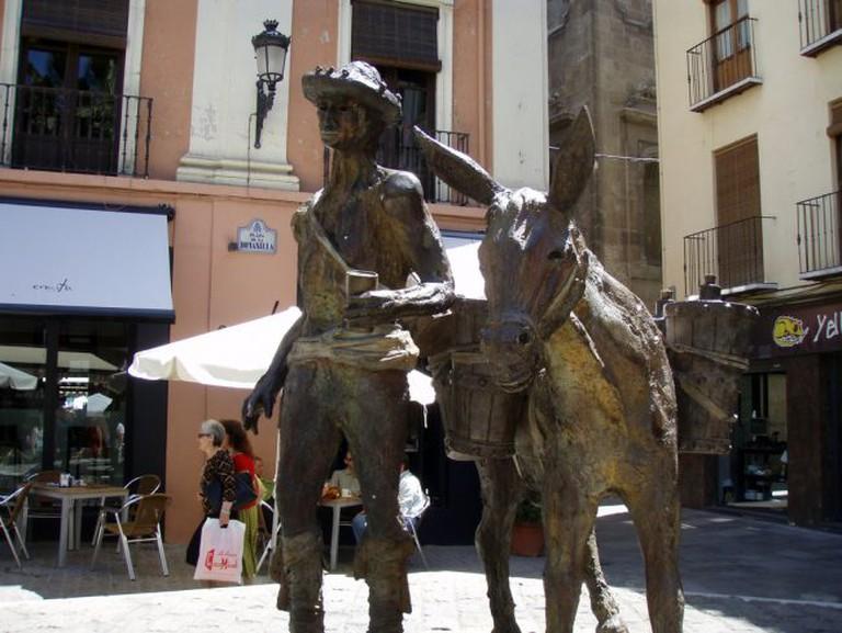"<a href=""https://www.flickr.com/photos/daquellamanera/"">Granada's Plaza Romanilla, or 'Donkey Square', is a great place to enjoy tapas in spring | © Daniel Lobo/Flickr</a>"