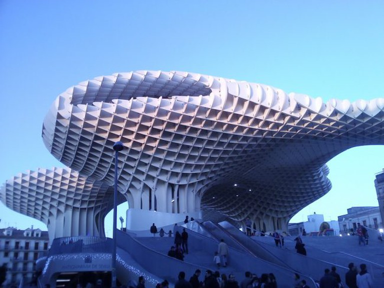 """<a href=""""https://www.flickr.com/photos/draxus/"""">Seville's Las Setas is the largest wooden monument in the world 