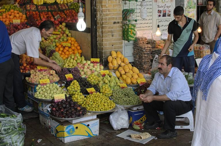 Tajrish Bazaar has wonderful fresh produce | © Kamyar Adl / Flickr