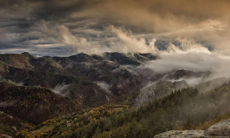 A view from Belintash Rock   © Alexandra Karadzhova/WikiCommons