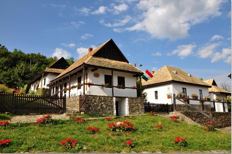 Hollókő village Hungary