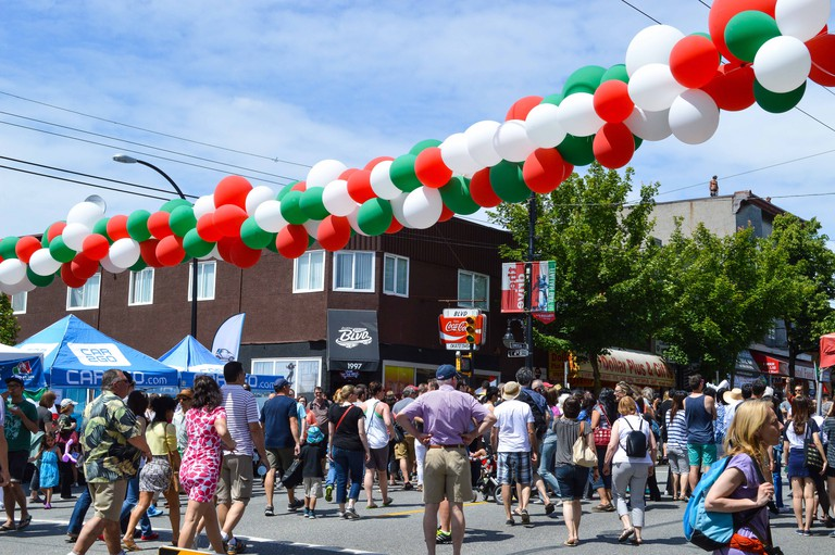 Italian Day on Commercial Drive | © Hayley Simpson