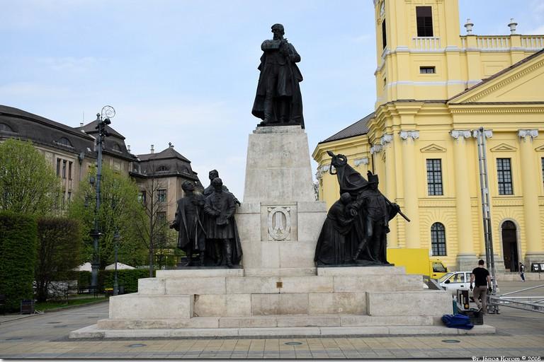 Kossuth Lajos statue Debrecen