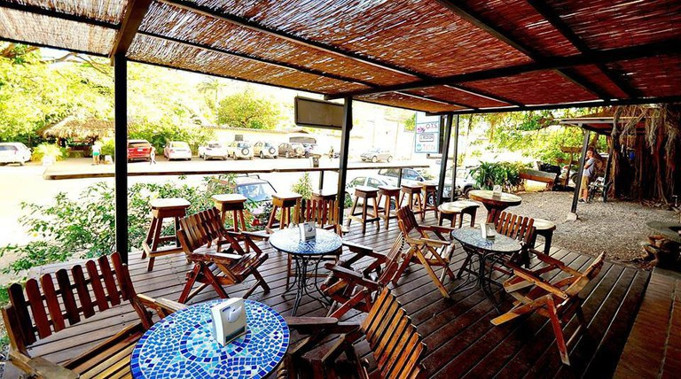 Perfect patio to enjoy a delicious meal on