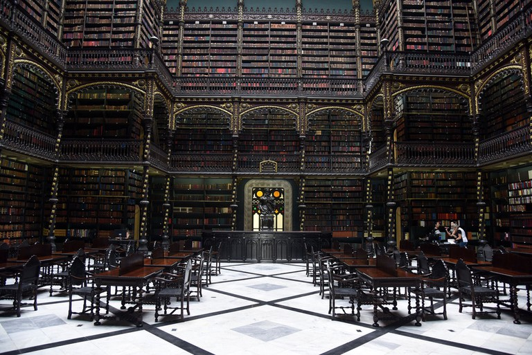 The Royal Portuguese Reading Room