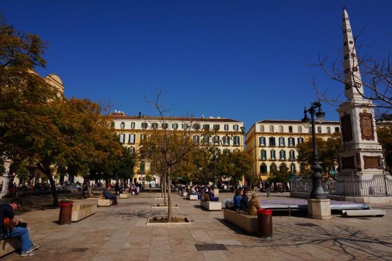 Pablo Picasso was born on Malaga's Plaza Merced in 1881   © Encarni Novillo