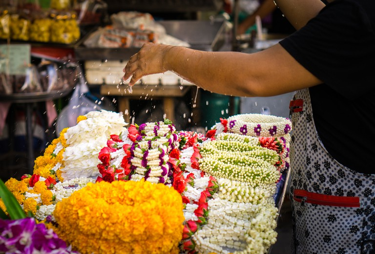 Explore the flower market