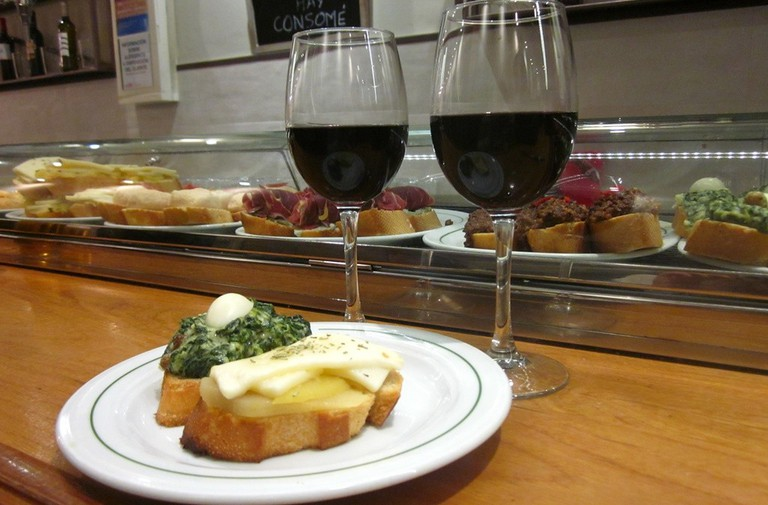 Eating out in Madrid is affordable and delicious | © Lori Zaino
