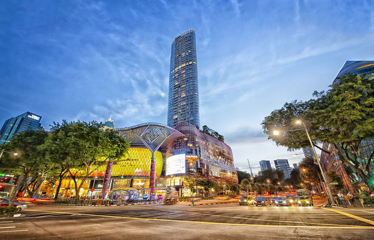 ION Orchard Shopping Centre on Orchard Road