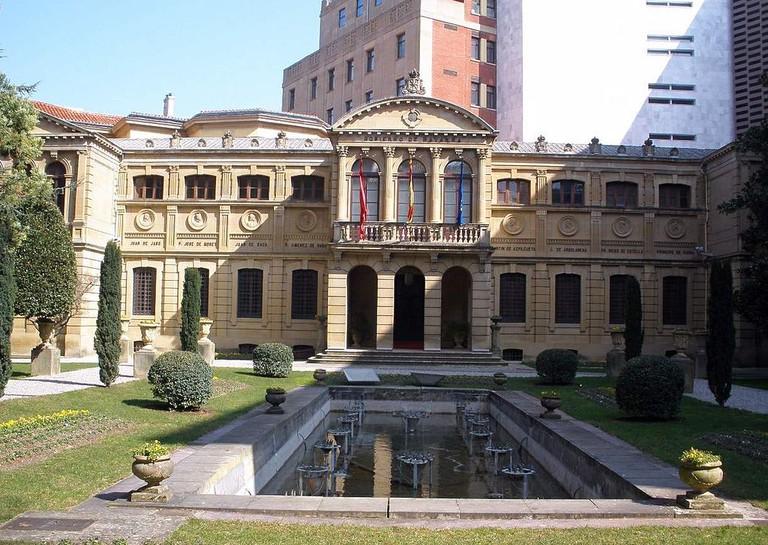 Palacio de Navarra, Pamplona | ©Zarateman / Wikimedia Commons