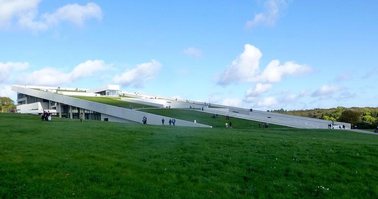 Det ny Museum set fra sydvest