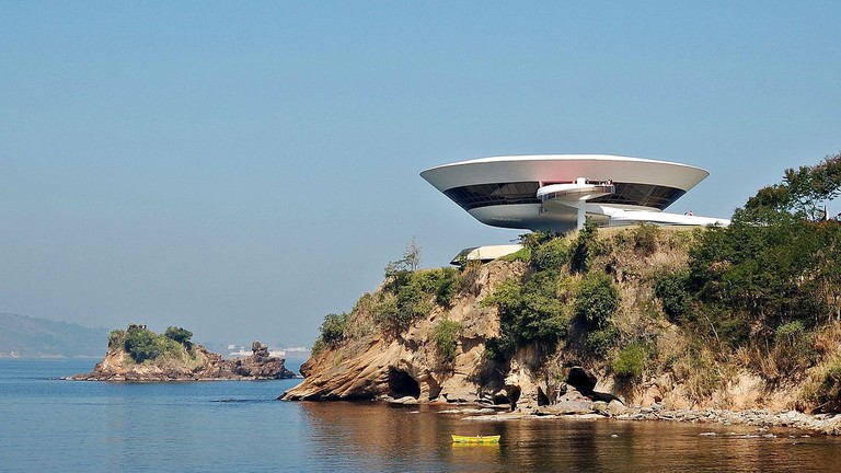Niterói Contemporary Art Museum, Niterói, Rio de Janeiro, Brazil