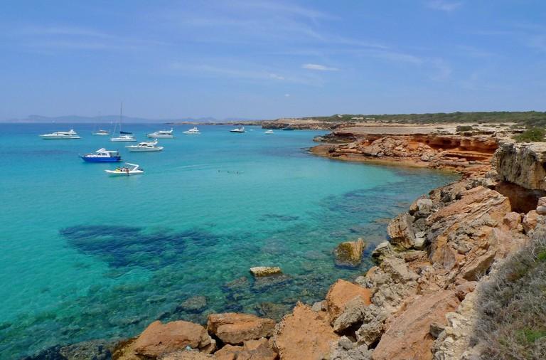 Azure waters in Formentera © Nacho Pintos