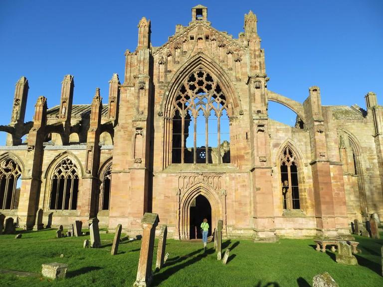 Melrose Abbey In The Scottish Borders | © alljengi / Flickr