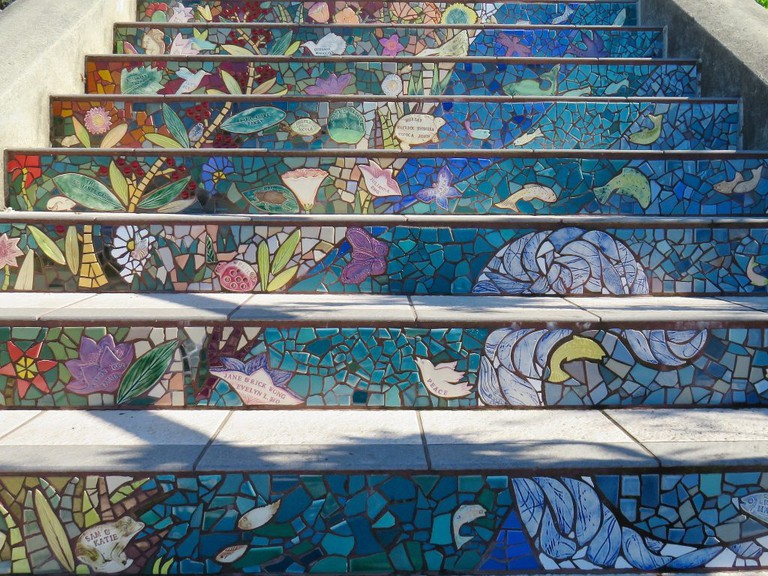 16th Avenue Tiled Step | © fabola / Flickr