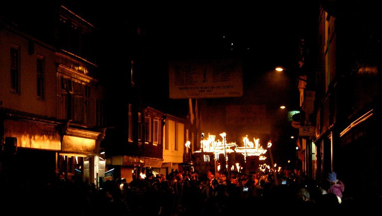 Lewes Bonfire Night | © Dominic Alves/Flickr
