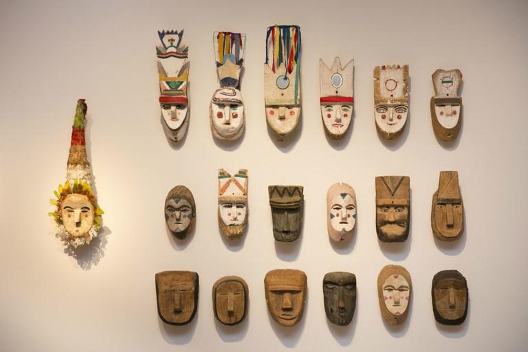 """<a href=""""https://www.flickr.com/photos/culturaargentina/"""">Tribal masks   © MCNA/Flickr</a>"""