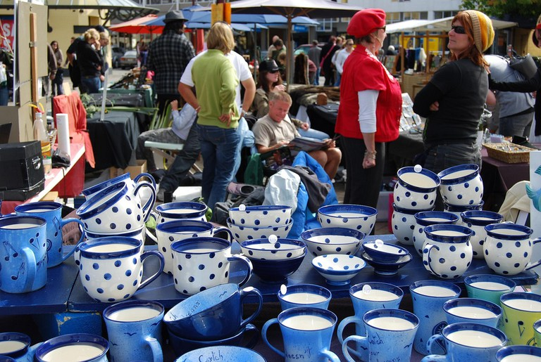 Pottery at the Queenstown Arts and Crafts Market