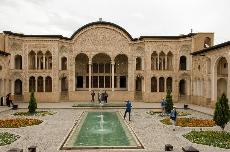 Tabatabaei House in Kashan | © Kamyar Adl / Flickr