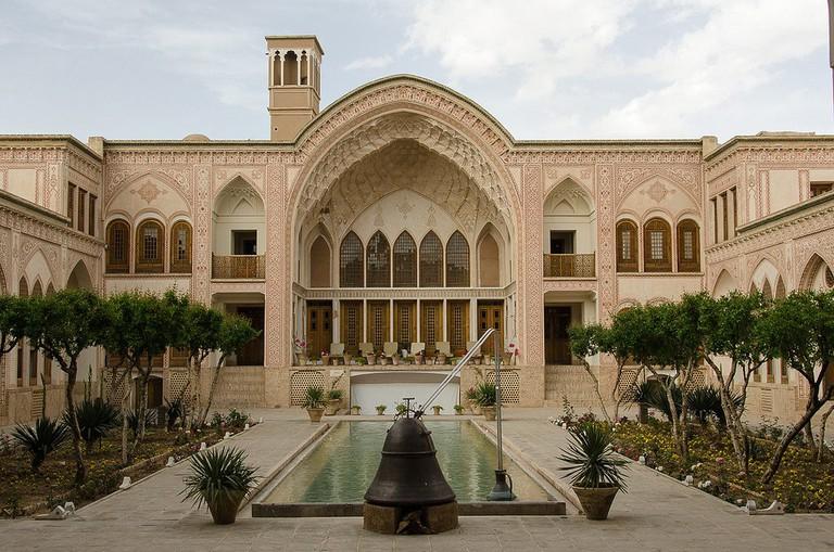 Ameriha historical house of Kashan | © Kamyar Adl / Flickr