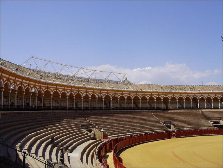 "<a href=""https://www.flickr.com/photos/nachof/"">Bullfighting in Seville's historic bullring 