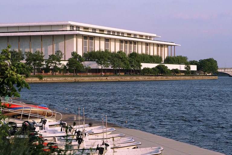 The Kennedy Center at sunset