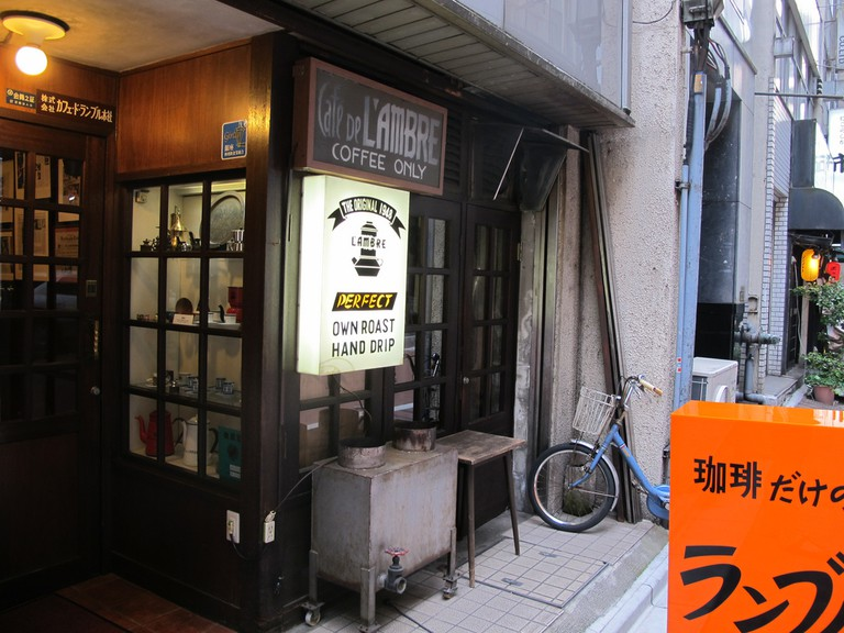 Cafe de L'Ambre exterior