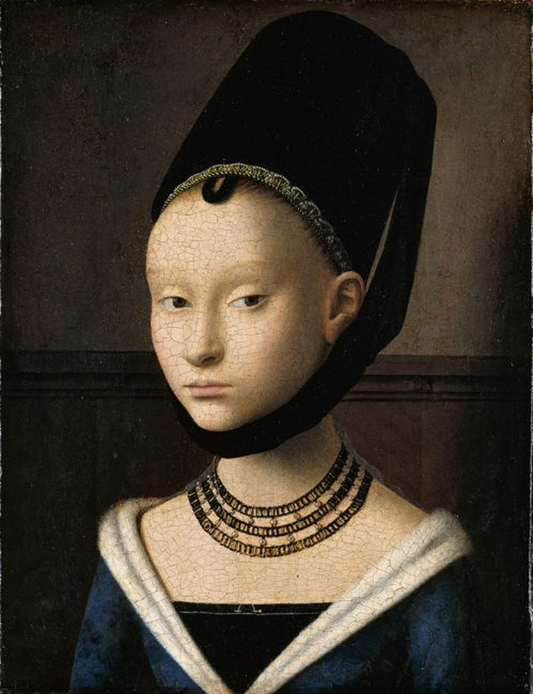 Portrait of a Young Girl   Petrus Christus / Wikimedia Commons