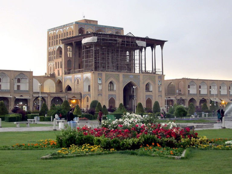 Ali Qapu Palace is one of the sites of the grand Naqsh-e Jahan Square | © David Stanley / Flickr