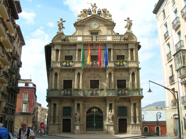 Ayuntamiento de Pamplona, Spain
