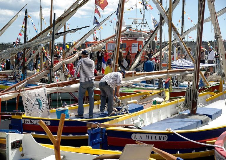 Fishing boats in Sète CC0 Pixabay