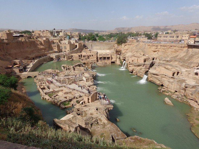 The ancient irrigation system in Shushtar is a masterpiece | © Pontia Fallahi
