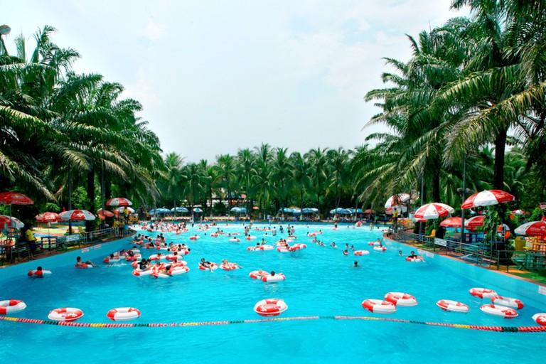 Dam Sen Water Park, Hồ Chí Minh