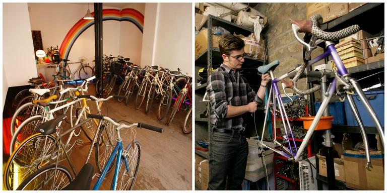 Inside Vélo Vintage Inside