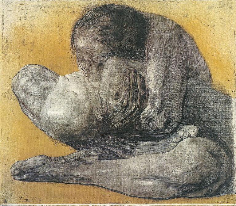 Woman with a Dead Child   Käthe Kollwitz / Wikimedia Commons