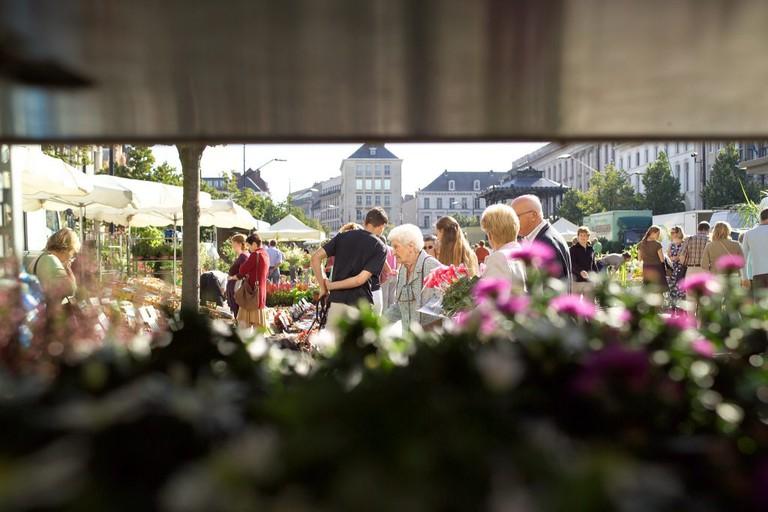Kouter flower market | Courtesy of Visit Ghent