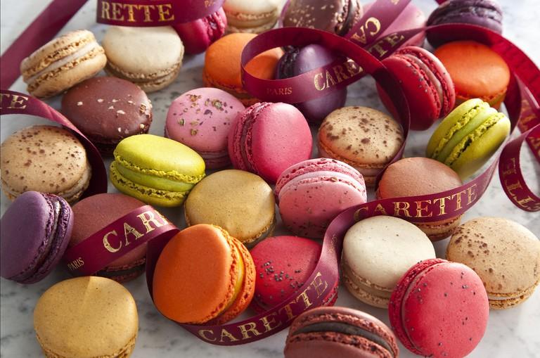 Macarons at Carette │ Courtesy of Carette