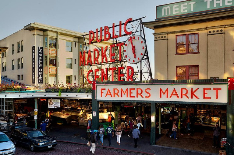 Pike Place is one of the oldest markets in the US