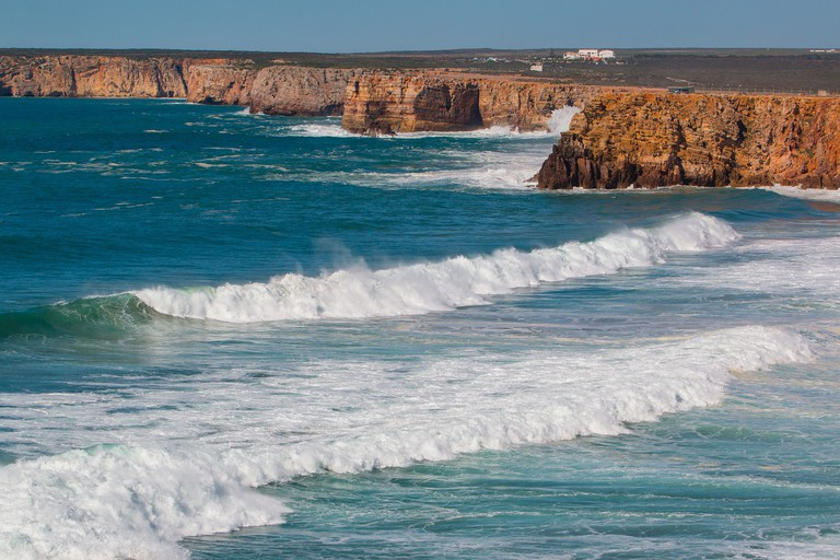 Sagres is great for surfing CC0 Pixabay