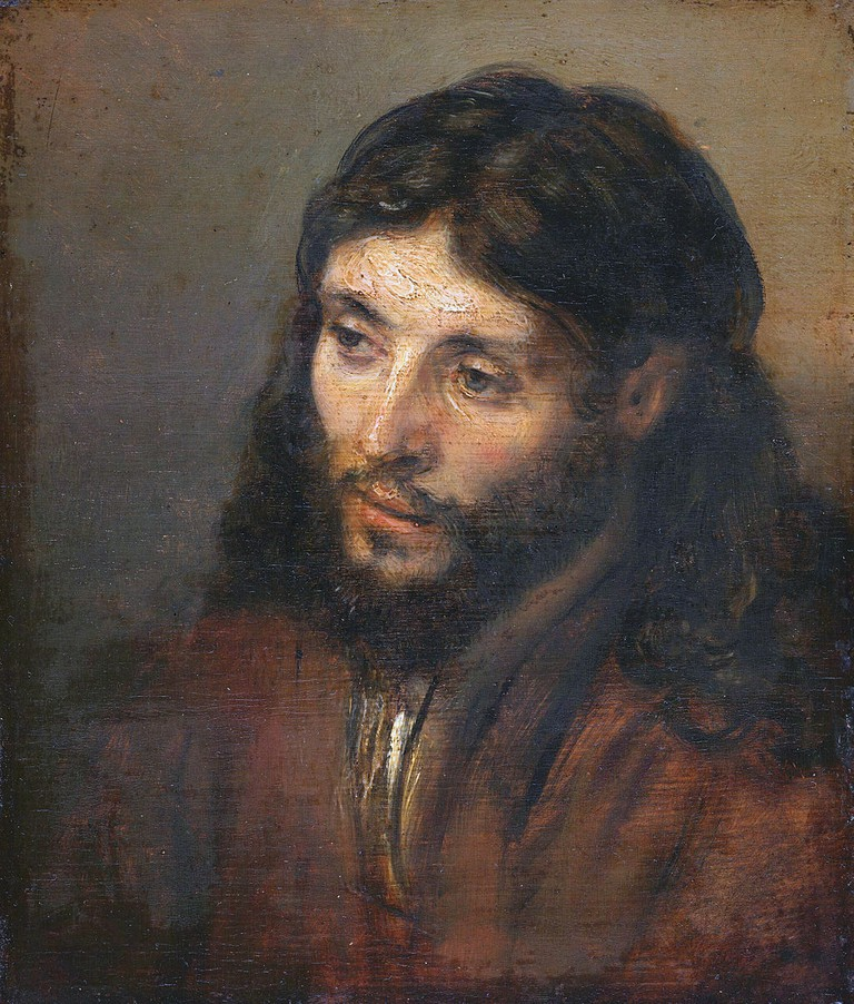 Head of Christ   Rembrandt / Wikimedia Commons
