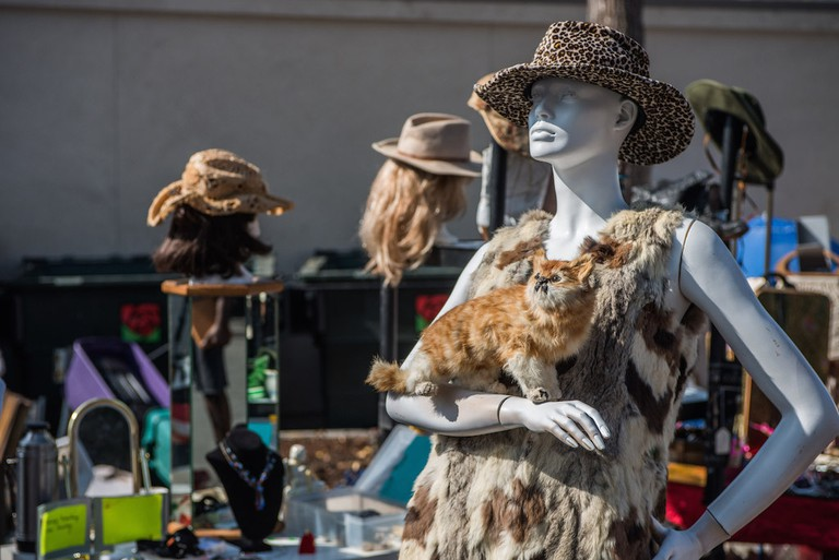 You can find anything at the Rose Bowl Flea Market