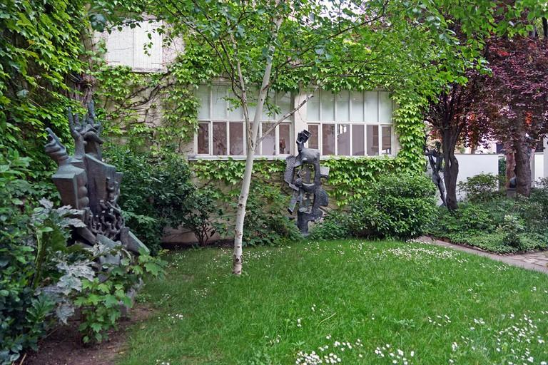 Sculpture garden at the Musée Zadkine
