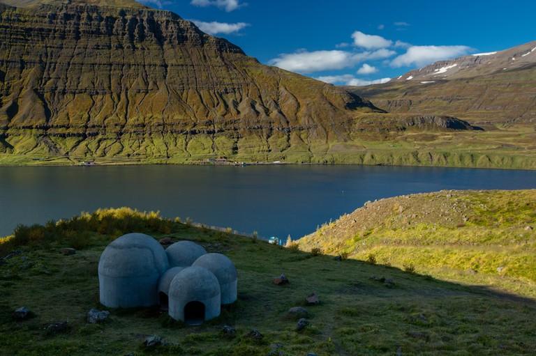 Tvísöngur Sound Sculpture, Iceland   © Wise Lee/Shutterstock