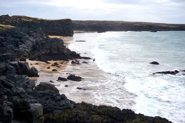 Iceland's Golden Beach   © dixkom/Shutterstock