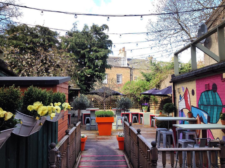 The Blackbird Beer Garden