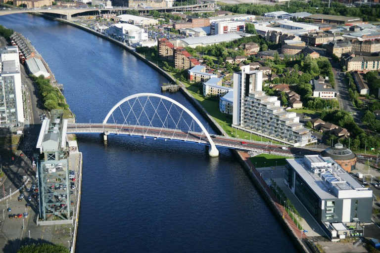 The Clyde Arc | Courtesy Of Glasgow Life